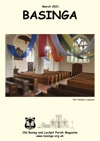 Basinga Front Cover March 20211 - splendidly joyful fabric artwork in the form of a rainbow