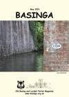 Basinga Front Cover May 2021 - Railway Bridge over the River Loddon