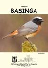 Basinga Front Cover Jun 2021 - A beautiful Redstart