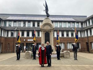 Raising standards for British Legion at Civic Offices