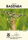 Basinga Front Cover August 2021 - Marble White Butterfly