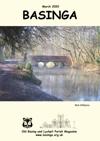 Basinga Front Cover March 2020 - Bridge over River Loddon
