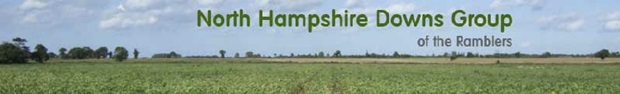 North Hampshire Downs Ramblers banner