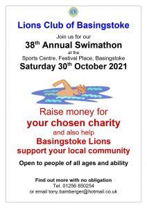 Poster for Lions Swimathon