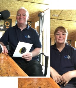 Stephen and Jayne Poulter - DJs for HHCR