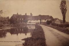 Basing Mill, postcard 1900