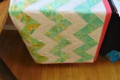 patchwork bed quilt