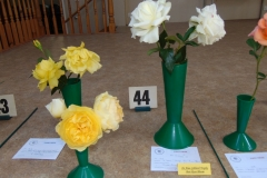 3 large flowered