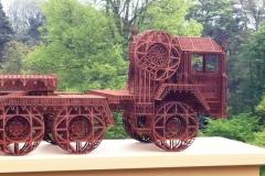 Elaborate model lorry