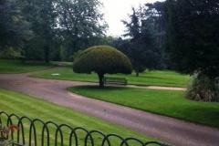 Waddesdon Manor, garden scene