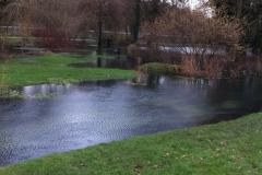 Eastrop Park burst river bank - Kevin Curtis