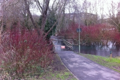 Eastrop Park path closed due to flooding - Kevin Curtis