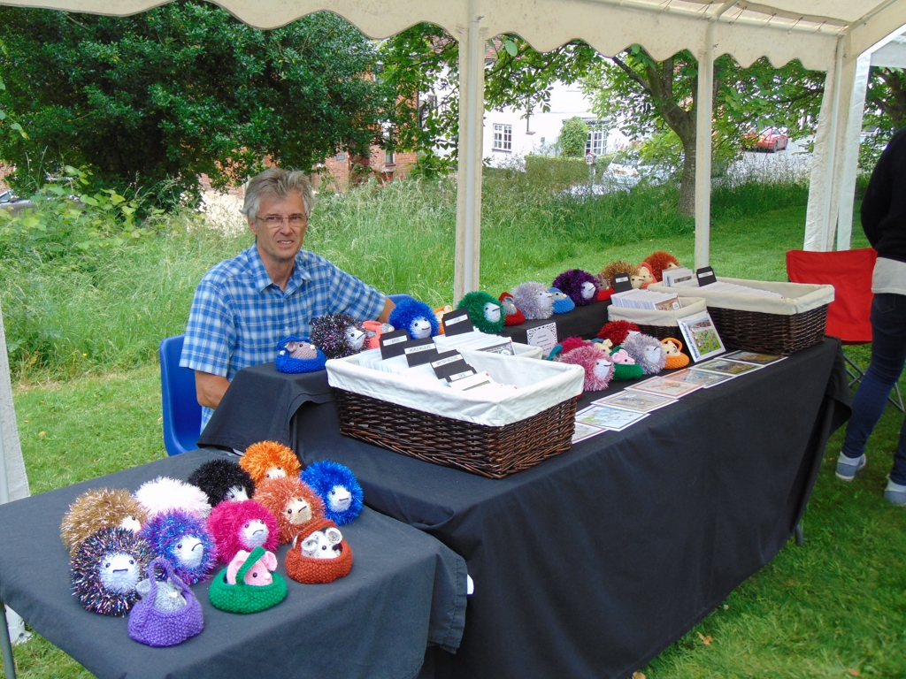Knitted Small Wildlife Stall - Alan Morris