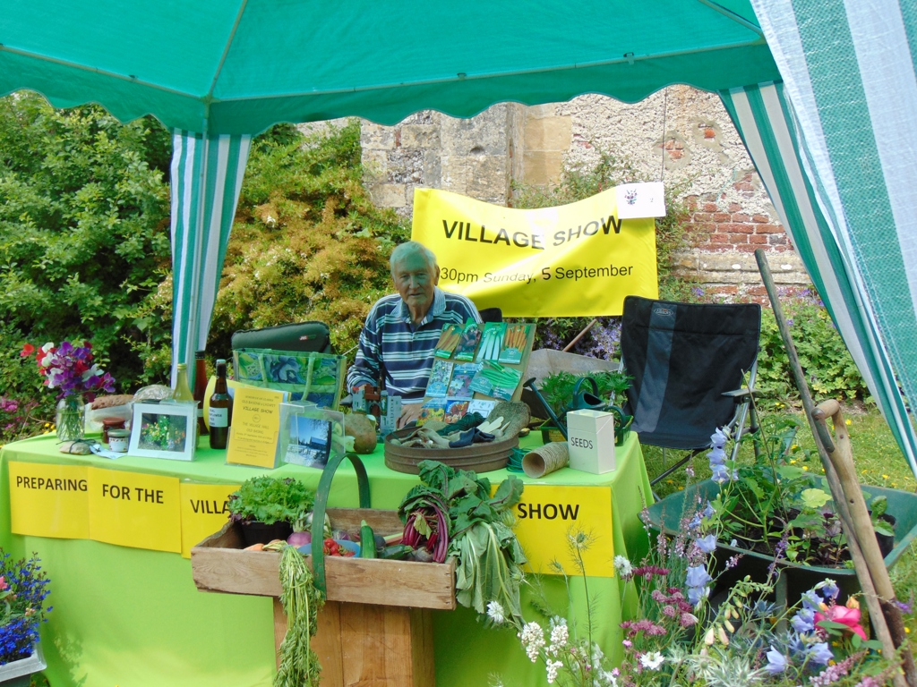 Preparing for the Village Show - Alan Morris